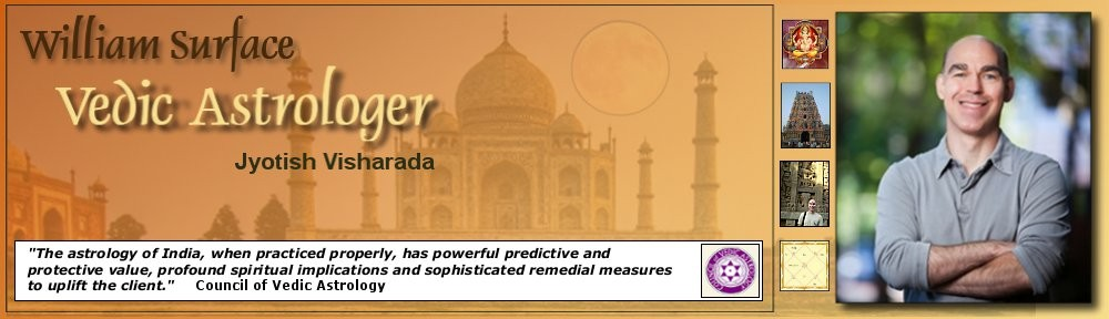 William Surface Vedic Astrologer
